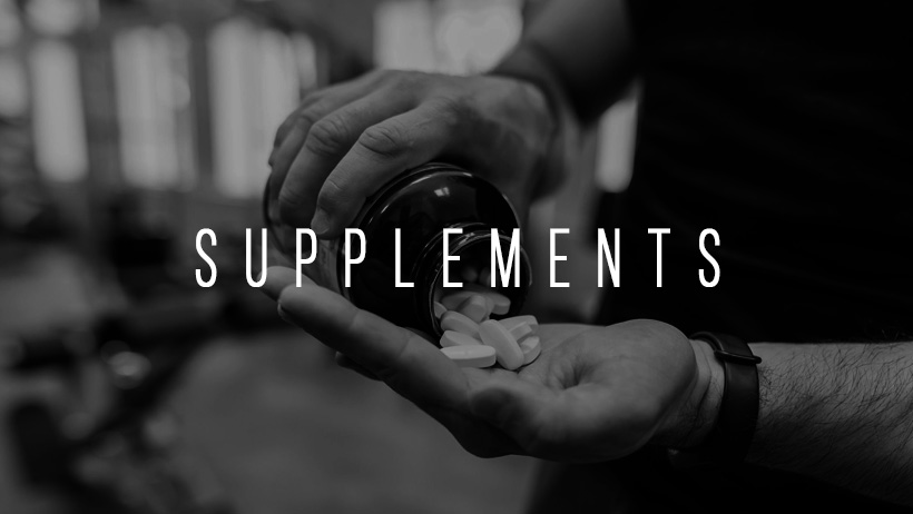 Supplements B&W Title